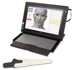 Analyse gebeurt door de computer op basis van tientallen gecontroleerde meetresultaten.